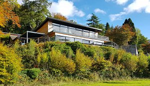New architect designed passive solar house in St Fillans Loch Earn
