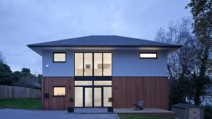 new house in Bearsden by Glasgow architect