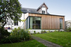House extension in North Kelvinside by Scottish architect